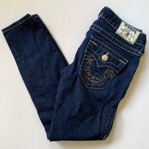 Low Rise True Religion Swarovski Jeans Siz…
